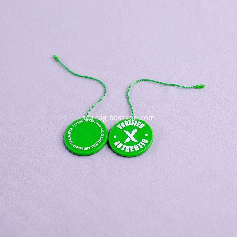 Beautiful Plastic string Tags