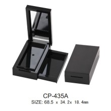 Square Plastic Single Eyeshadow Case