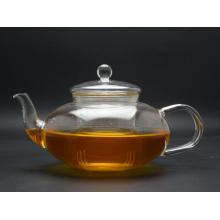 (GT022) Tea Set, Glass Tea Pot, Heat Resistant Tea Cup, 1000ml Borosilicate Teapot