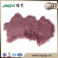 Wholesale Long Hait Curly Mongolian Lamb Fur Skin