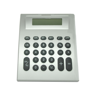 8 dígitos Dual Power Classic Arch Desktop Calculator