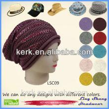 LSC09 Ningbo Lingshang Moda diseño 100% algodón snapback sombreros