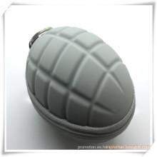 La granada de silicona diseñó el bolso clave / el monedero para la promoción