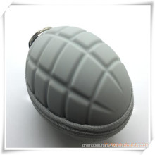 Silicone Grenade Designed Key Bag/ Coin Purse for Promotion