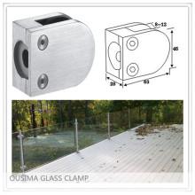 Collier en verre à balustrade en acier inoxydable avec haute qualité pour système de main courante (CR-055)