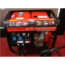 6KVA Diesel Engine Welding Generator with British Socket and Control Panel