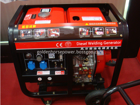 diesel welding generator and welder