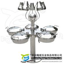 5-звездочная электрическая тепловая лампа Chafing Station Buffet