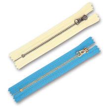 Y Teeth # 3 Metal Zipper para pantalones vaqueros