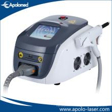 Laser portatif du ND YAG de commutateur / retrait du tatouage tenu dans la main de laser de YAG