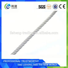 Steel Wire Rope For Auto Spare Parts 6x7+Iws