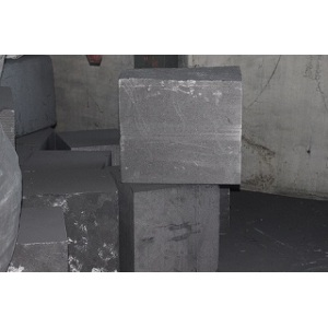 Rotary kiln graphite seal block