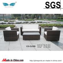 Mobília confortável exterior do Rattan do pátio do lazer (ES-OL009)