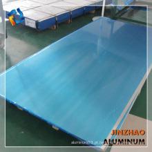 Jinzhao 6mm 8mm 10mm 12mm folha de liga de alumínio