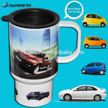Large sublimation thermal car mug ,blank coated mug