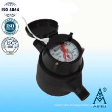 Compteur de Pd eau volumétrique à Piston Type gallons en plastique