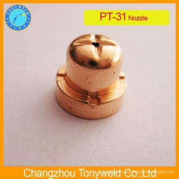 Boquilla para consumibles de corte por plasma para PT31