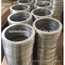 SWG anéis anéis de metal CS / anéis de vedação 304 / 316L (SUNWELL)