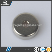 Cost price hot sale neodymium pot magnet magnetic hooks