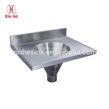Fregadero de esclusa combinado del acero inoxidable, combinación médica del fregadero de la esclusa para las mercancías sanitarias del hospital