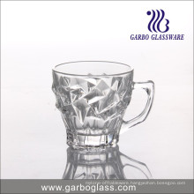 6oz Tea Glass Mug Engraved with Pyramid Design