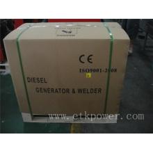 Strong Carton Packing Diesel Welder Generator Set (4.6KW)