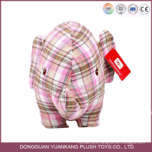 ISO9001 OEM custom made elephant wholesale animal stuffed plush toy
