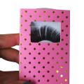 Custom Gold Foil Dot Eyelash Box