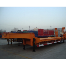 60 Ton gooseneck semi-trailer low bed