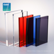 Acrilico PMMA Color and Clear and Transparent  Plastic Acrylic Sheet 2 mm