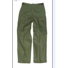 Pantalones tácticos de algodón de alta calidad de combate de algodón