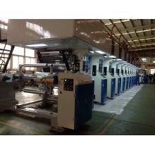 Impresora de huecograbado con accionamiento de eje electrónico de 250 m / min