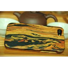 Housse en bois pour téléphone Vogue, housse de téléphone Natual Wood