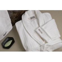 100%cotton luxury five star hotel Velour  bathrobe