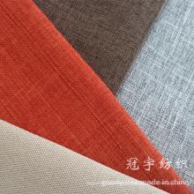 Tissu en lin imitation de toutes les gammes pour housses