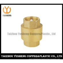 Brass Check Valve with Spring (YS7002)