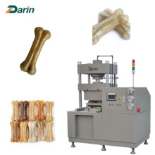Dog chew bones machine shape size customized