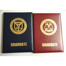 Диплом держатель сертификата PU кожаный
