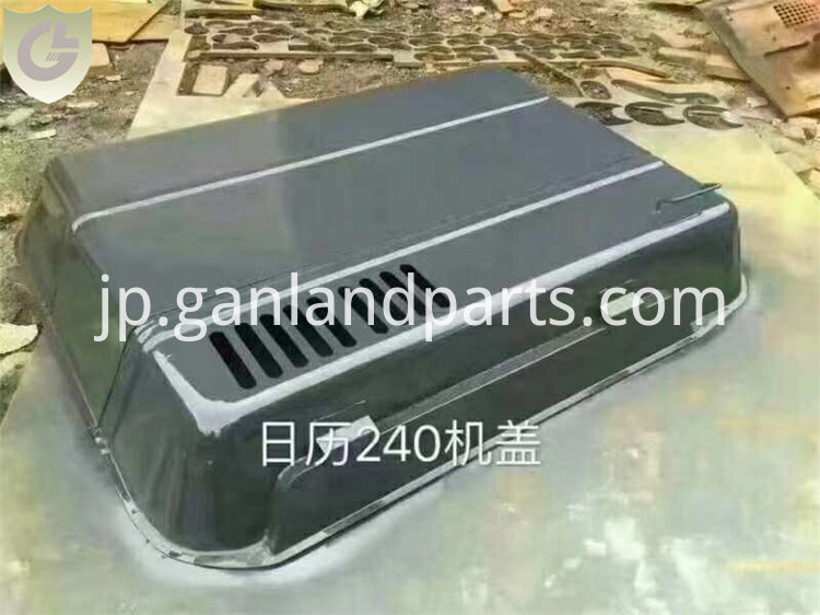 Hitachi EX240 Engine Hood