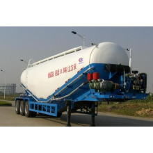China 3 Axle 58cbm Powder Material Transport Semi-Trailer for Sale