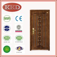 Antiroubo blindado porta de madeira aço JKD-G103 para a Europa