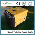 China Fábrica Aire refrigerado 5kVA generador diesel conjunto con insonorización