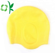 Simple Silicone Customized Swimming Cap for Long Hair