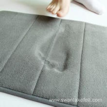 Eco-friendly Non-slip Memory Form Material Mat Rug
