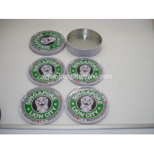 Promotional Custom Tin Coaster Sets - Starbucks