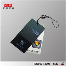 Auto adesivo holograma Hang Tag etiquetas para roupas