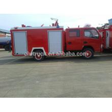 2015 Bom caminhão de incêndio de 3ton dongfeng da qualidade, dimensão do caminhão de fogo 4x2