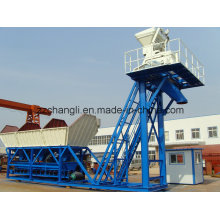 50m3/H Small Mobile Concrete Plant, Wet Mix Concrete Batching Plant