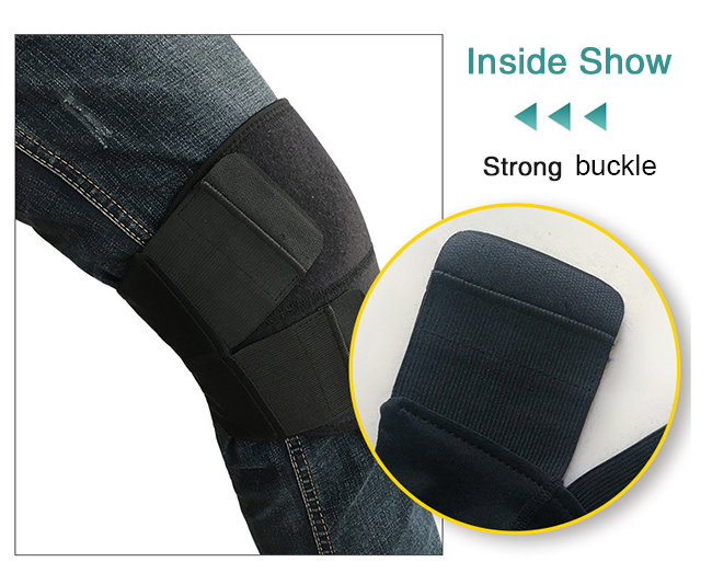 strong buckle knee support
