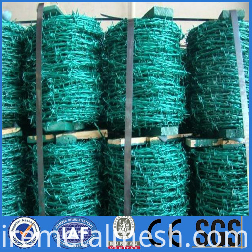 PVC barbed wire packing